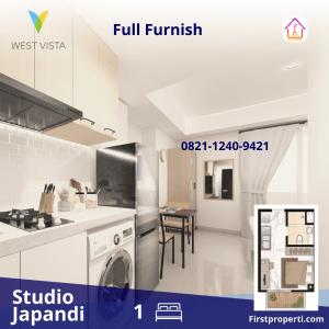 Apartemen West Vista Tipe Studio 2020 5