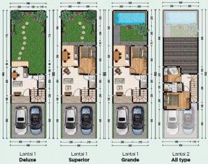 PHR Prima Harapan Regency bekasi layout lebar 5