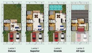 PHR Prima Harapan Regency bekasi layout lebar 8