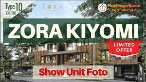 Zora Kiyomi Tipe 12 Show Unit Foto