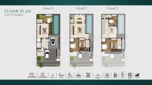 Zora Kiyomi tipe 10 standard layout
