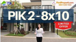 Rumah milenial PIK 2 tipe 8x10