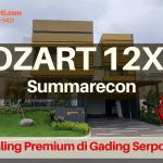 Mozart Summarecon Serpong Show Unit 12x23