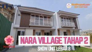review Nara Village tipe 8 facade