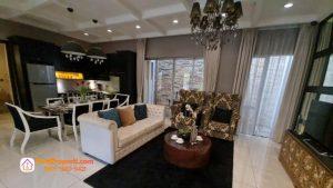 PIK 2 Rumah Tipe 10x15 living room