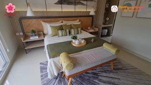 Nara village tipe 7 master bedroom