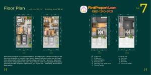 Tipe rumah Puri 11 heritage residence tipe lebar 7