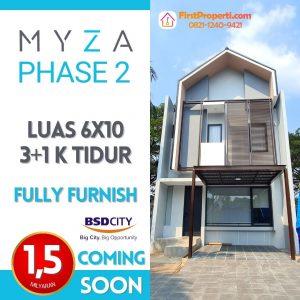 Myza BSD Tahap 2