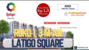 Ruko Latigo Square Gading Serpong
