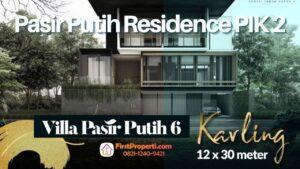 Pasir putih Residence PIK 2 Kavling Premium