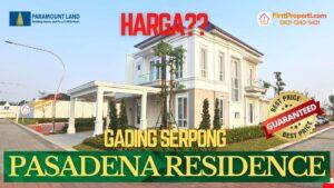 harga pasadena residences serpong